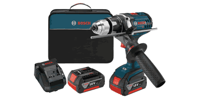 Bosch DDH181X-01 Brute Tough Drill/Driver Kit with KickBack Control