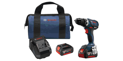 Bosch DDS183-01 18V EC Brushless Compact Tough Drill/Driver Kit