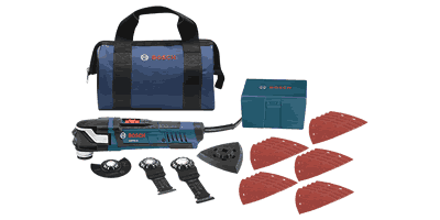 Bosch GOP40-30B StarlockPlus Oscillating Multi-Tool Kit