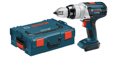 Bosch HDH181BL 18V Lithium Ion Brute Tough Hammer Drill/Driver with L-Boxx