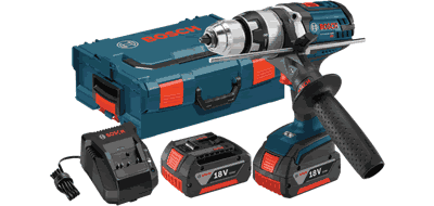 Bosch HDH181X-01L 18V Brute Tough Hammer Drill/Driver with L-Boxx Carrying Case