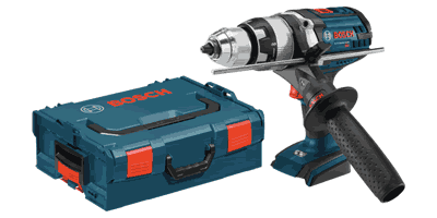 Bosch HDH181XBL 18V Brute Tough Hammer Drill Driver with L-Boxx Carrying Case
