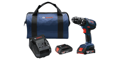 Bosch HDS181A-02 18V Compact Tough Hammer Drill/Driver Kit
