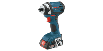 Bosch IDS181 Compact Tough Impact Driver with 2 SlimPack Batteries