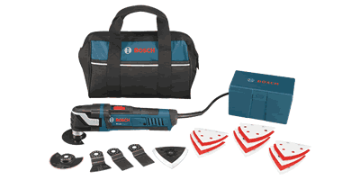 Bosch MX30EC-21 Multi-X Oscillating Tool Kit with Tool Less Blade Change