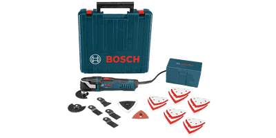 Bosch MX30EK-33 Multi-X Oscillating Tool Kit