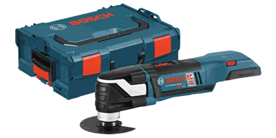 Bosch MXH180BL Brushless 18V Cordless Multi-X Oscillating Tool with L-Boxx-2 and Exact-Fit Insert Tray