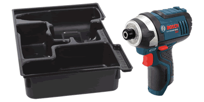 Bosch PS41BN 12V MAX Impact Driver with Exact-Fit Insert Tray