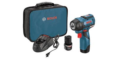 Bosch PS82-02 12V MAX EC Brushless Impact Wrench Kit
