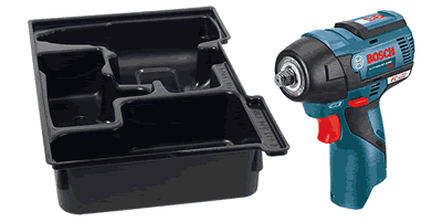 Bosch PS82BN 12V MAX EC Brushless Impact Wrench with Exact-Fit Insert Tray