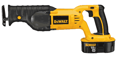 Dewalt DC385K Cordless Reciprocating Saw Kit