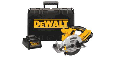 Dewalt DC390K Cordless Circular Saw Kit