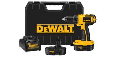 Dewalt DC720KA Cordless Compact Drill Driver Kit