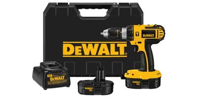 Dewalt DC725KA Cordless Compact Hammerdrill Kit