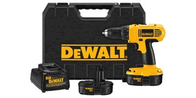 Dewalt DC759KA Cordless Compact Drill Driver Kit
