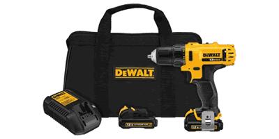 Dewalt DCD710S2 12V MAX Drill Driver Kit