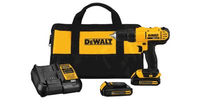 Dewalt DCD771C2 20V MAX Lithium Ion Compact Drill/Driver Kit