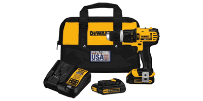 Dewalt DCD785C2 20V MAX Lithium Ion Compact Hammerdrill Kit