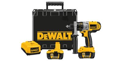 Dewalt DCD970KL 18V Cordless XRP Li-Ion Hammerdrill/Drill/Driver Kit