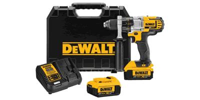 Dewalt DCD980M2 20V MAX Lithium Ion Premium 3-Speed Drill/Driver Kit