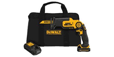 Dewalt DCS310S1 Cordless Pivot Reciprocating Saw Kit