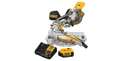 Dewalt DCS361M1 20V Max Cordless Sliding Compound Miter Saw with Battery & Charger