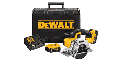 Dewalt DCS373P2 20V Max Lithium Ion Cordless Metal-cutting Circular Saw Kit