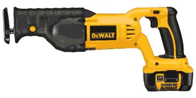 Dewalt DCS385 Cordless Reciprocating Saw