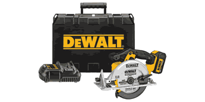 Dewalt DCS391L1 Cordless Circular Saw Kit