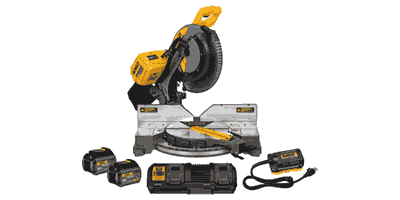 Dewalt DHS716AT2 Flexvolt Double Bevel Sliding Compound Miter Saw Kit