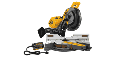 Dewalt DHS790AB Flexvolt Double Bevel Sliding Compound Miter Saw Kit