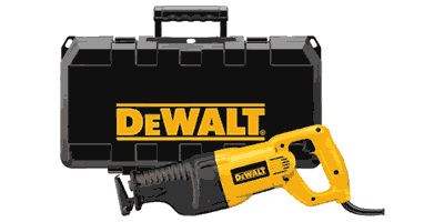 Dewalt DW310K Reciprocating Saw Kit