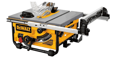 Dewalt DW745 10″ Compact Job Site Table Saw with Site-pro Modular Guarding System