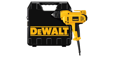Dewalt DWD115K VSR Mid-handle Drill Kit with Keyless Chuck