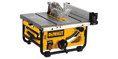 Dewalt DWE7480 10″ Compact Job Site Table Saw with Site-Pro Modular Guarding System