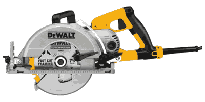 Dewalt DWS535T Worm Drive Circular Saw with Twistlock Plug