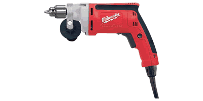 Milwaukee 0100-20 Magnum Drill with QUIK-LOK Cord