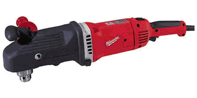 Milwaukee 1680-21 Heavy-Duty Super Hawg with Carrying Case