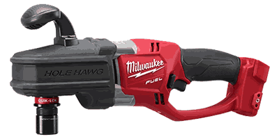Milwaukee 2708-20 M18 FUEL HOLE HAWG Right Angle Drill with QUIK-LOK