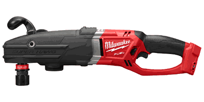 Milwaukee 2711-20 M18 Fuel Super Hawg Right Angle Drill with Quik-Lok