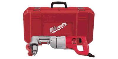 Milwaukee 3107-6 D-Handle Right Angle Drill Kit