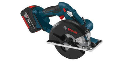 Bosch CSM180 18 V Lithium Ion Cordless Metal Cutting Circular Saw