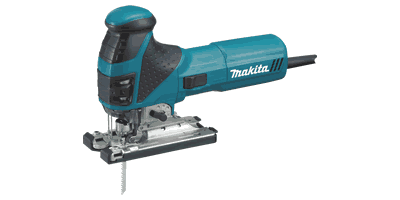 "Makita 4351FCT Barrel Grip Jig Saw with ""Tool‑less"" Blade Change"