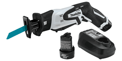 Makita RJ01W 12V max Lithium‑Ion Cordless Recipro Saw Kit