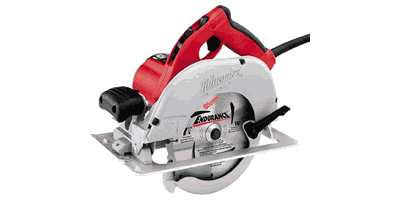 Milwaukee 6391-21 Left Blade Circular Saw with Case