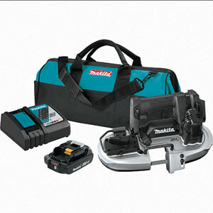 Makita XBP05R1B 18V LXT Lithium‑Ion Sub‑Compact Brushless Cordless Band Saw Kit