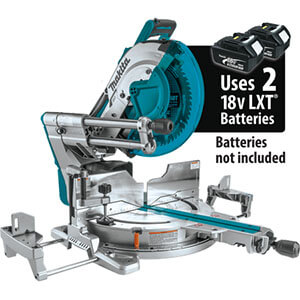 Makita XSL08Z Brushless Dual Bevel Sliding Compound Miter Saw