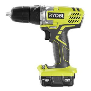 Ryobi HJP004 12V Compact Lithium-Ion Drill and Driver