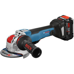 Bosch GWX18V-50PCN 18V X-LOCK EC Brushless Connected-Ready Angle Grinder