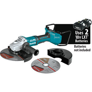 Makita XAG23ZU1 Brushless Cordless Paddle Switch Cut‑Off and Angle Grinder